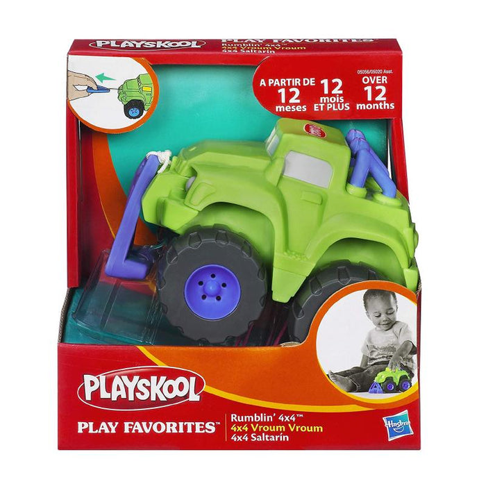 PLAYSKOOL RUMBLIN' 4 x 4 PULL STRING VEHICLE