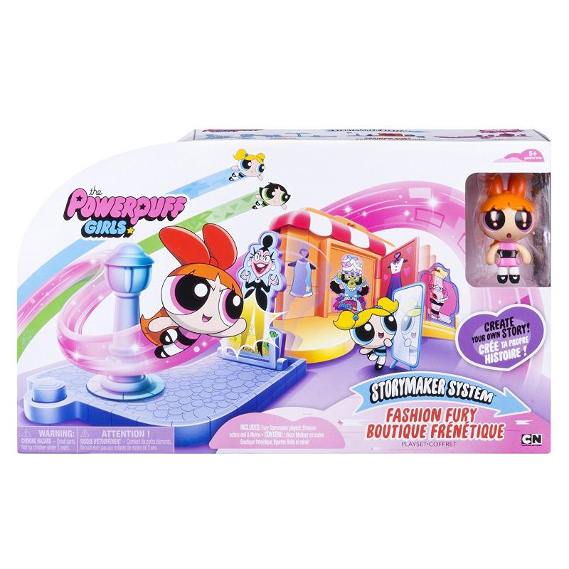 POWERPUFF GIRLS STORYMAKER FASHION FURY PLAY SET