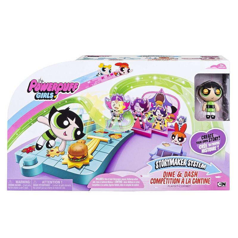 POWERPUFF GIRLS STORYMAKER DINE & DASH PLAY SET