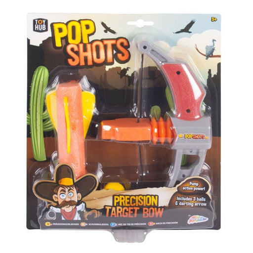 Pop Shots Precision Target Bow & Arrow