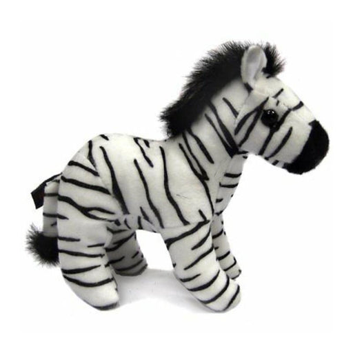 "ZEBRA SOFT 6"" PLUSH TOY"