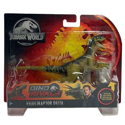 JURASSIC WORLD DINO RIVALS VELOCIRAPTOR DELTA ACTION FIGURE
