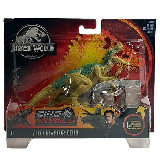 JURASSIC WORLD DINO RIVALS VELOCIRAPTOR ECHO ACTION FIGURE