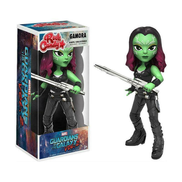 "FUNKO ROCK CANDY GAMORA GUARDIANS OF THE GALAXY 5"" FIGURE"