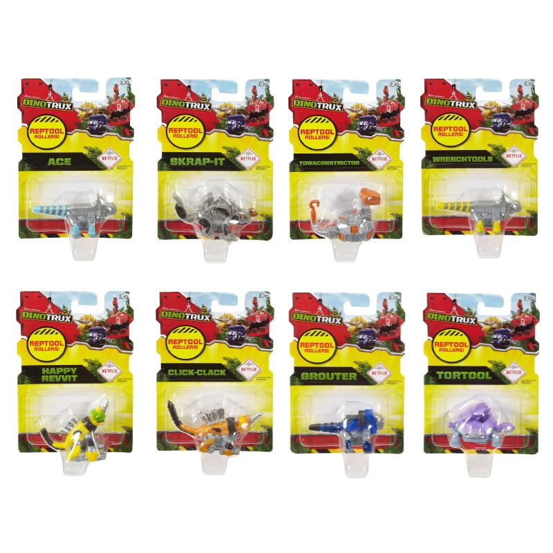 DINOTRUX REPTOOL ROLLERS MINI ACTION FIGURE