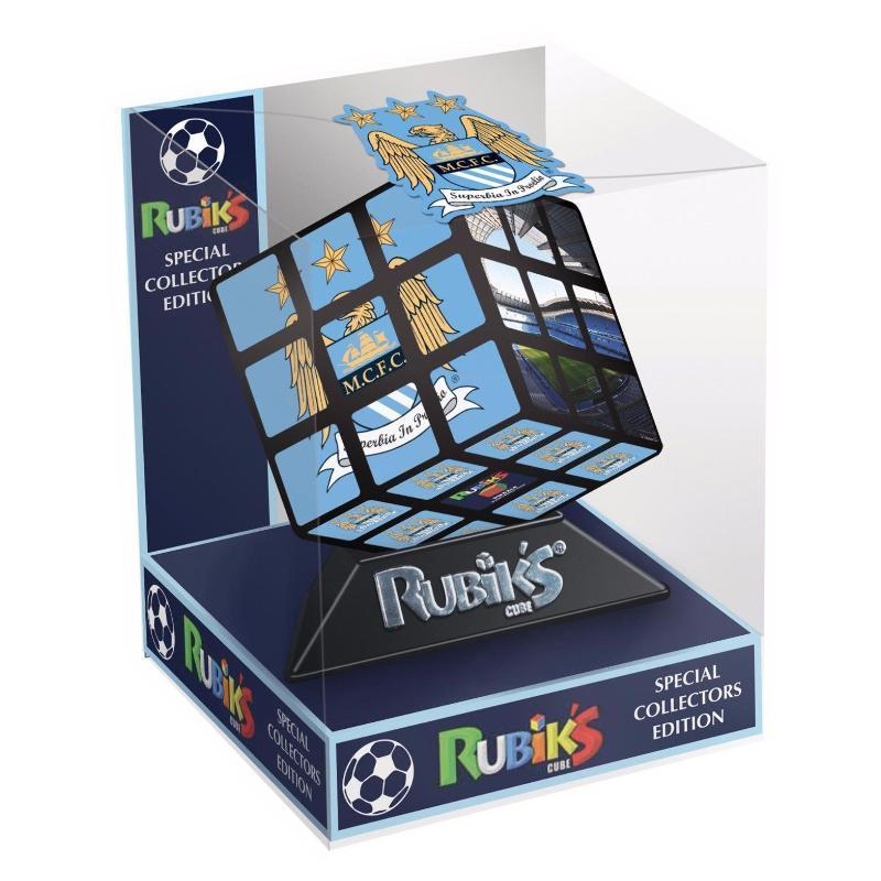 RUBIKS CUBE SPECIAL COLLECTOR EDITION - MANCHESTER CITY