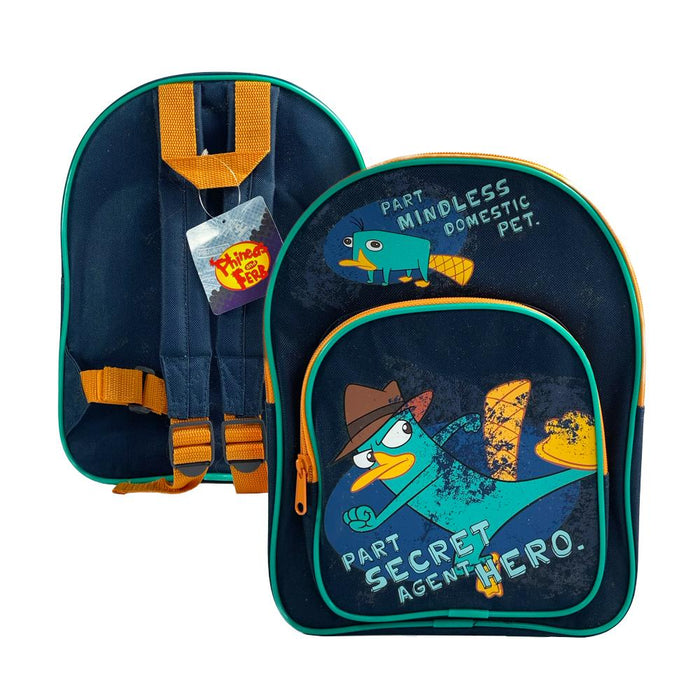 Phineas And Ferb Secret Agent Junior Kids Backpack