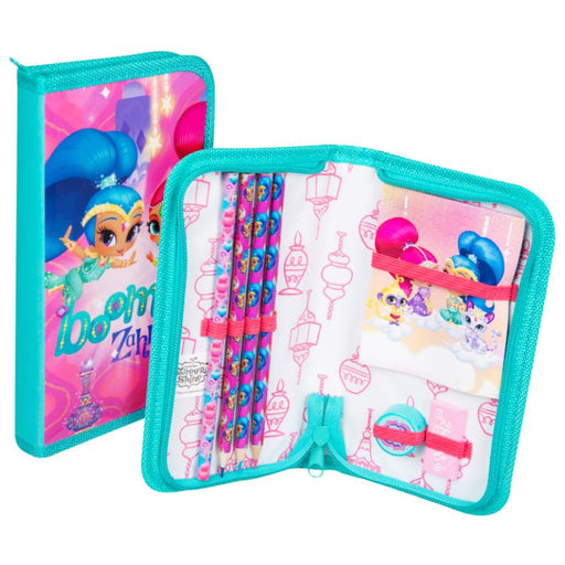 SHIMMER & SHINE FILLED PENCIL CASE