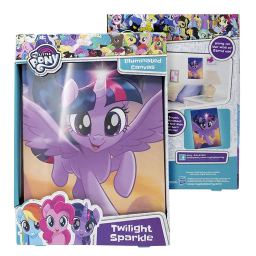 MY LITTLE PONY MOVIE ILLUMINATED TWILIGHT SPARKLE CANVAS LIGHT