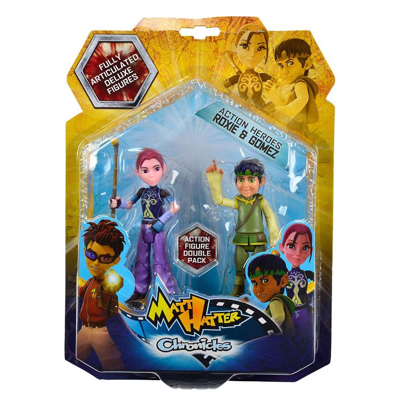 MATT HATTER CHRONICLES 2PK ACTION FIGURES - ROXIE & GOMEZ