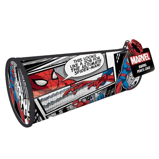 MARVEL ULTIMATE SPIDER-MAN BARREL PENCIL CASE