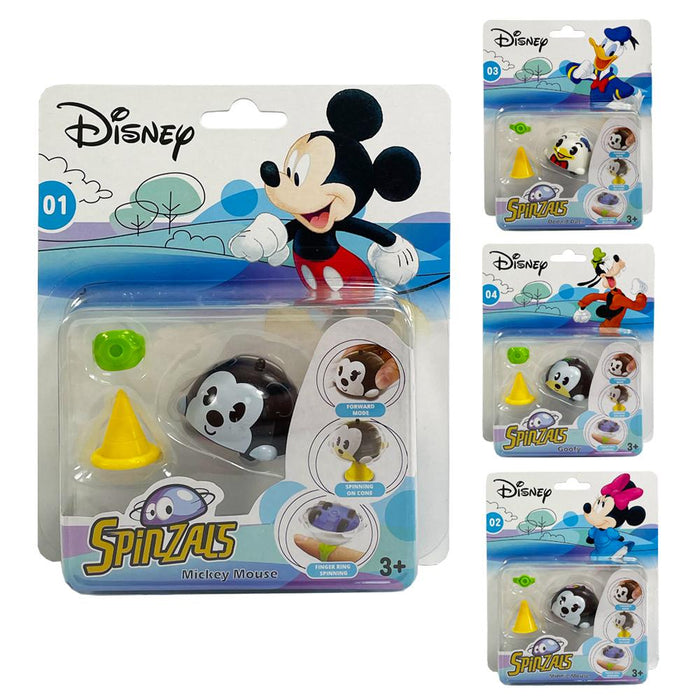 Disney Mickey Mouse & Friends Spinzals Figure