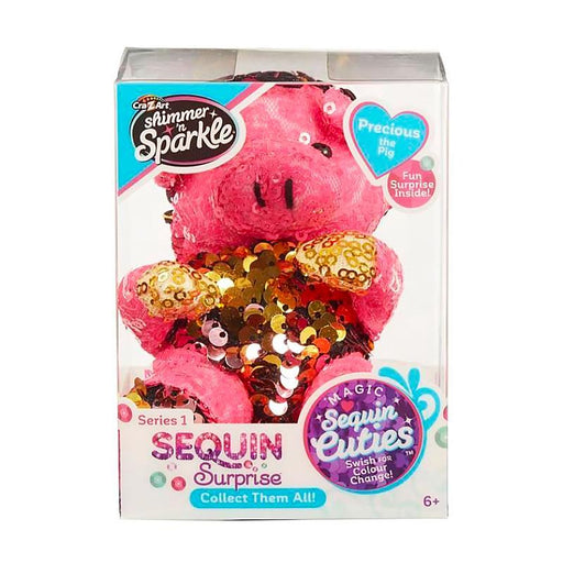 SEQUIN SURPRISE PETS PRECIOUS THE PIG MINI PLUSH TOY