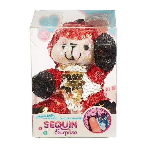 SEQUIN SURPRISE PETS RUBY THE FOX MINI PLUSH TOY