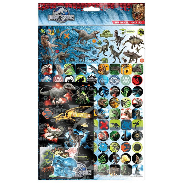 JURASSIC WORLD MEGA STICKER PACK