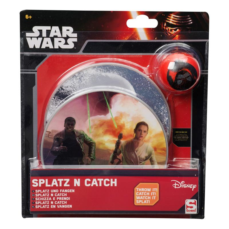 STAR WARS SPLATZ N CATCH GAME