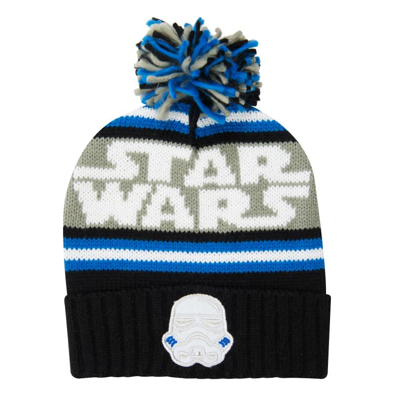 STAR WARS STORMTROOPER BOBBLE BEANIE HAT