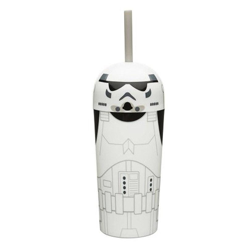 STAR WARS STORMTROOPER BUBBLE TOP TUMBLER CUP