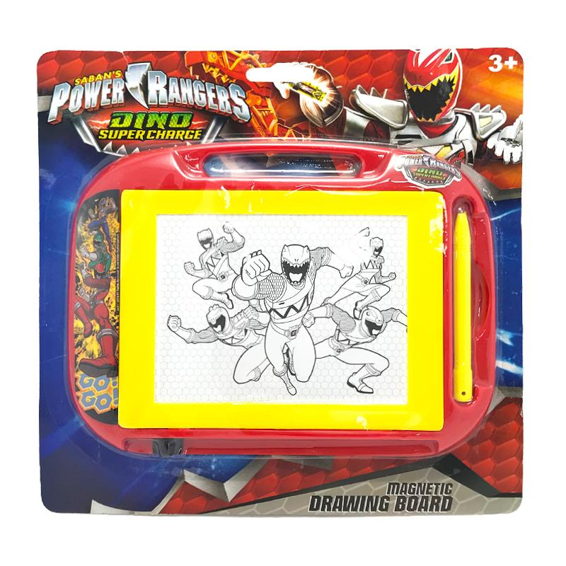 POWER RANGERS MAGNETIC SCRIBBLER DRAWING BOARD