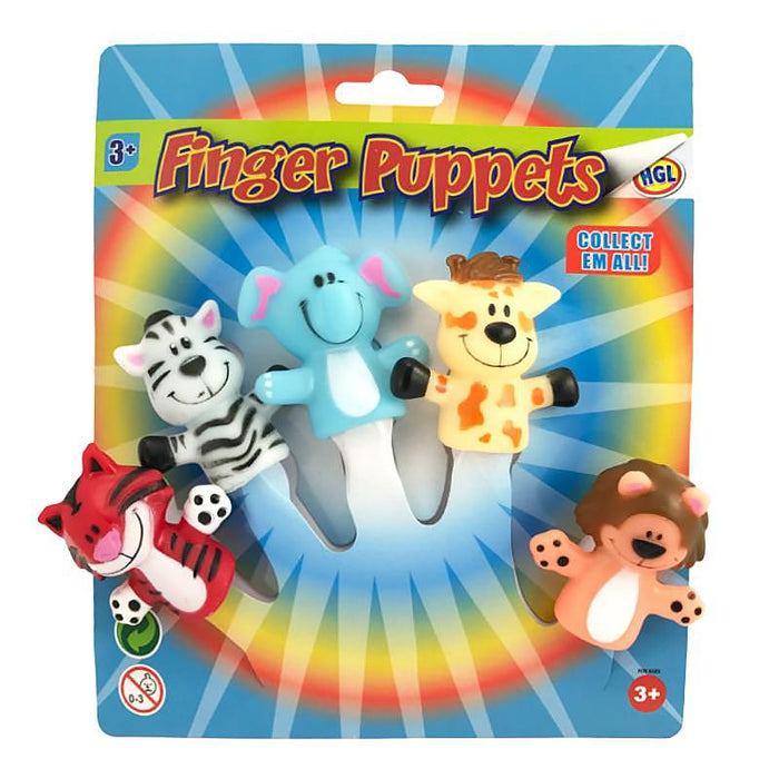 Animal Finger Puppet 5pc Set