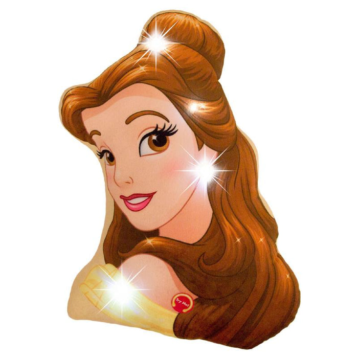 DISNEY PRINCESS BELLE CUSHION WITH LED LIGHTS