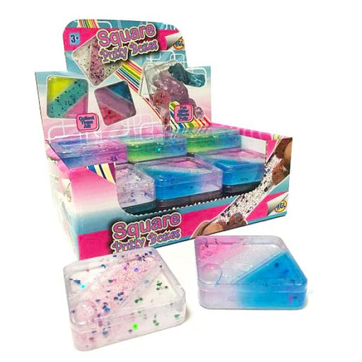 SQUARE SLIME PUTTY BOX