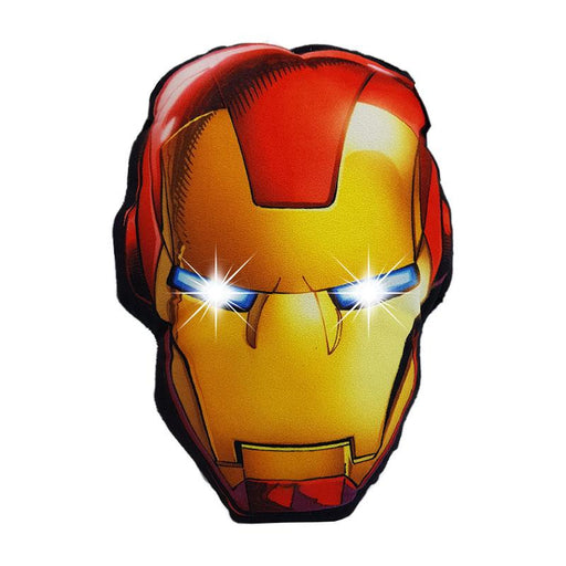 MARVEL AVENGERS IRON MAN CUSHION WITH LED LIGHTS