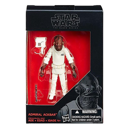 "STAR WARS BLACK SERIES ADMIRAL ACKBAR 3.75"" FIGURE"