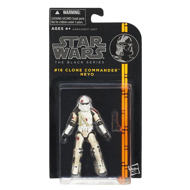 "STAR WARS BLACK SERIES COMMANDER NEYO 3.75"" ACTION FIGURE"