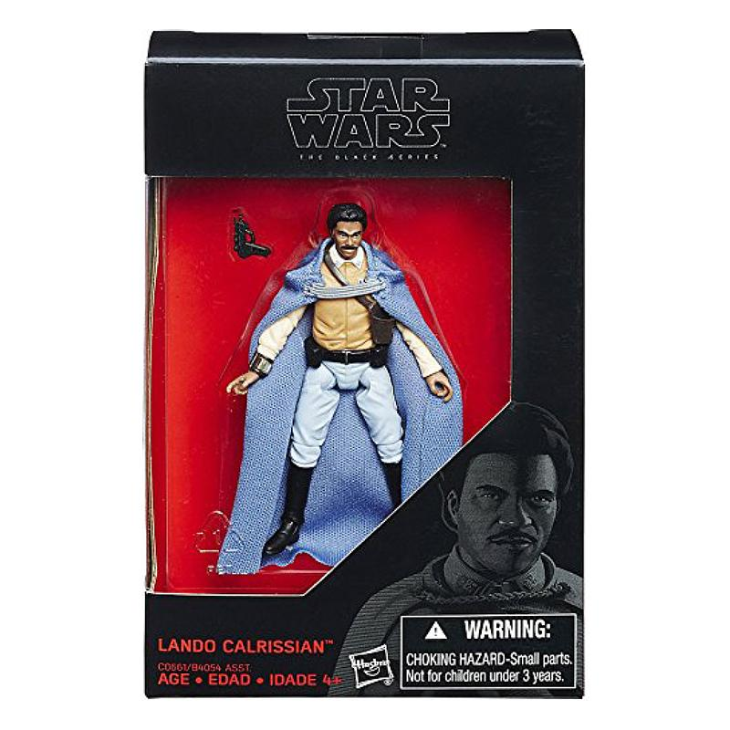 "STAR WARS BLACK SERIES LANDO CALRISSIAN 3.75"" FIGURE"