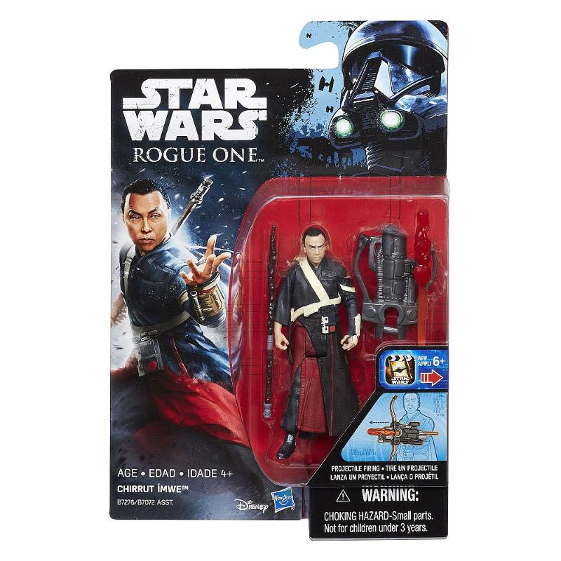"STAR WARS 3.75"" ACTION FIGURE - CHIRRUT IMWE"