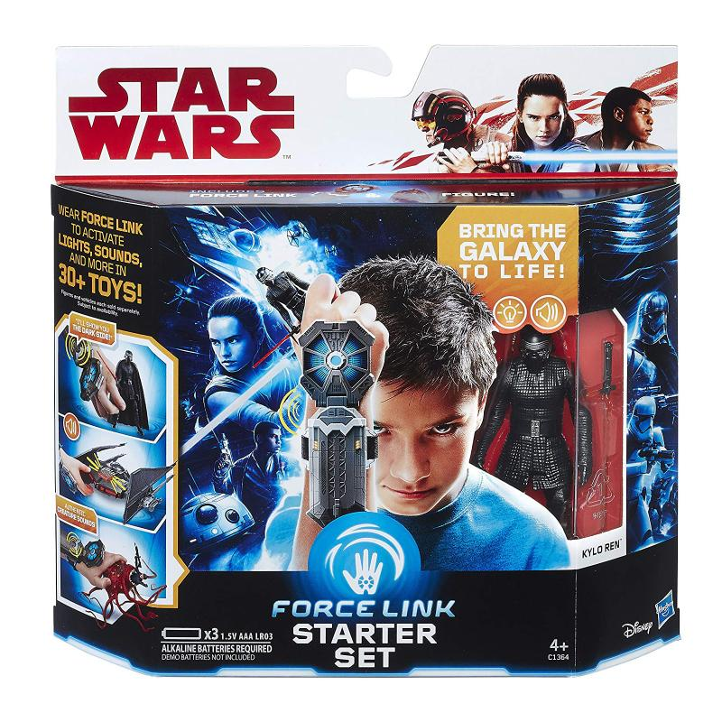 STAR WARS FORCE LINK STARTER SET & FIGURE PLAY SET