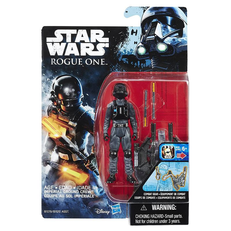 "STAR WARS 3.75"" ACTION FIGURE - IMPERIAL GROUND CREW"