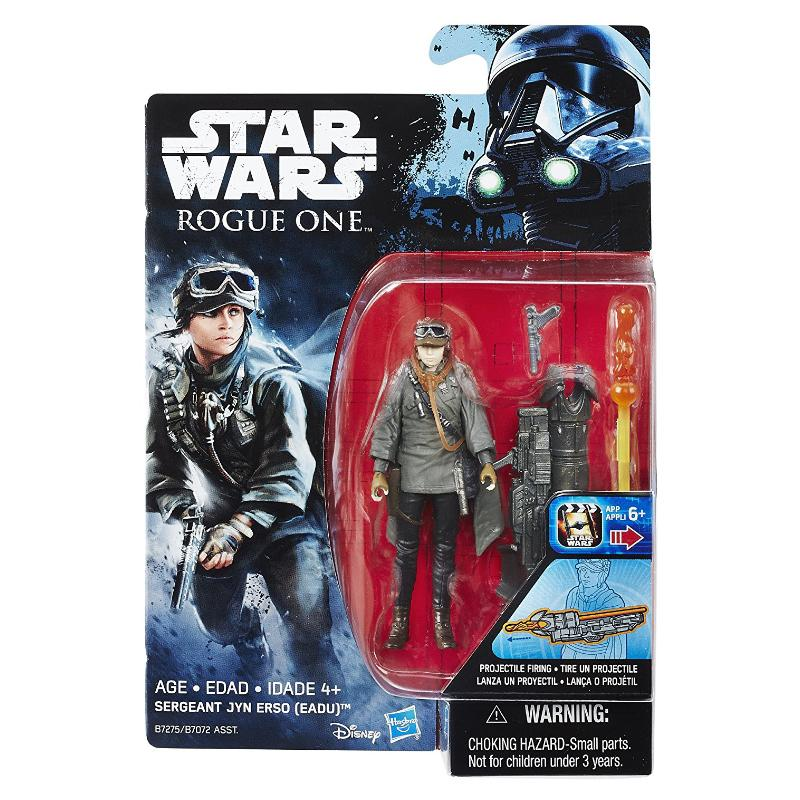"STAR WARS 3.75"" ACTION FIGURE - SERGEANT JYN ERSO"