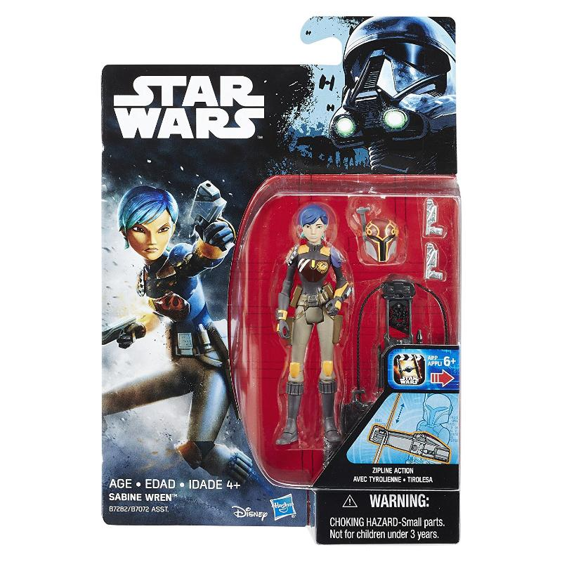 "STAR WARS 3.75"" ACTION FIGURE - SABINE WREN"