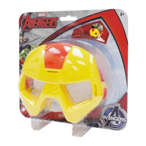 MARVEL IRON MAN SWIM MASK GOGGLES AGE: 3+