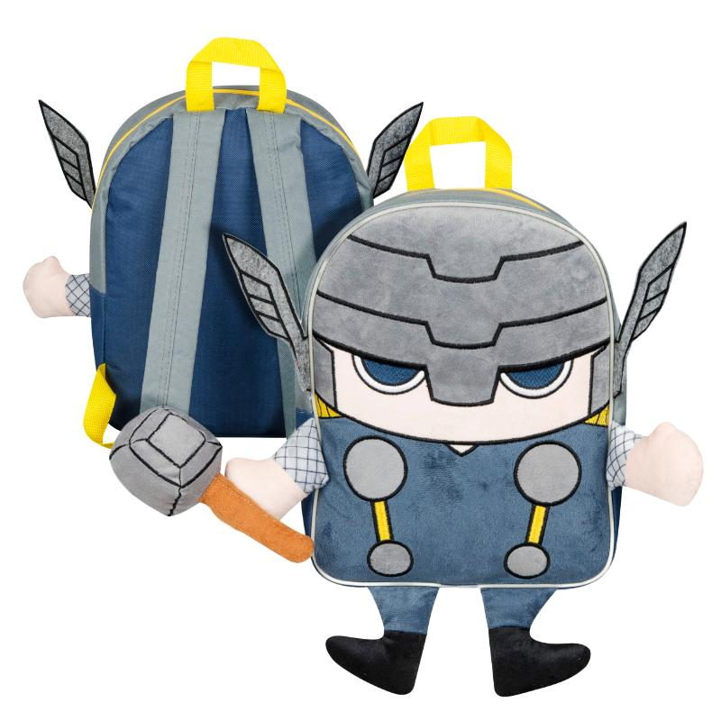THOR PLUSH FRONT BACKPACK