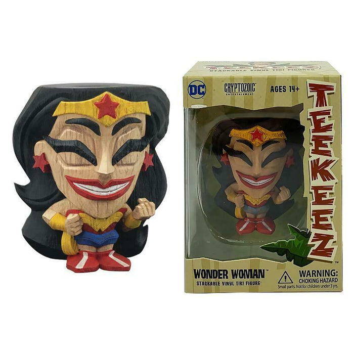 DC COMICS TEEKEEZ WONDER WOMAN STACKABLE 8CM FIGURE