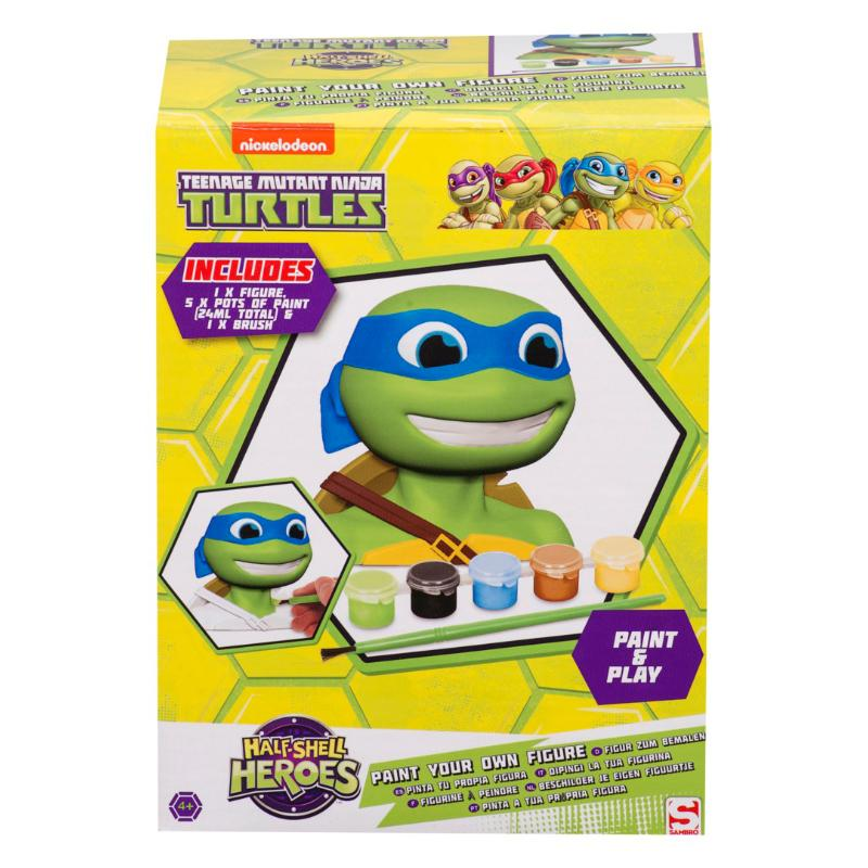 TEENAGE MUTANT NINJA TURTLES PAINT YOUR OWN FIGURE - LEONARDO