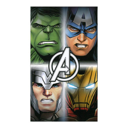 MARVEL AVENGERS CHARACTERS TOWEL