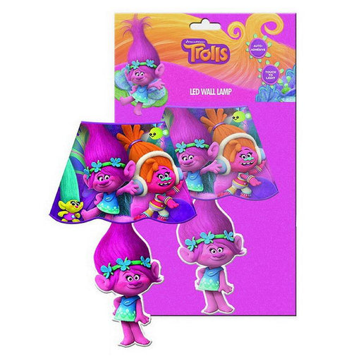 DREAMWORKS TROLLS LED STICK ON WALL LAMP