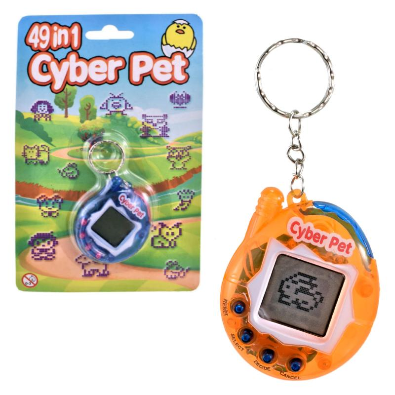 CYBER PET 49 IN 1 TAMAGOTCHI VIRTUAL ELECTRONIC PET
