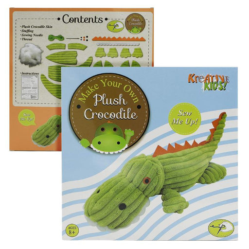 MAKE YOUR OWN STUFF & SEW PLUSH CROCODILE