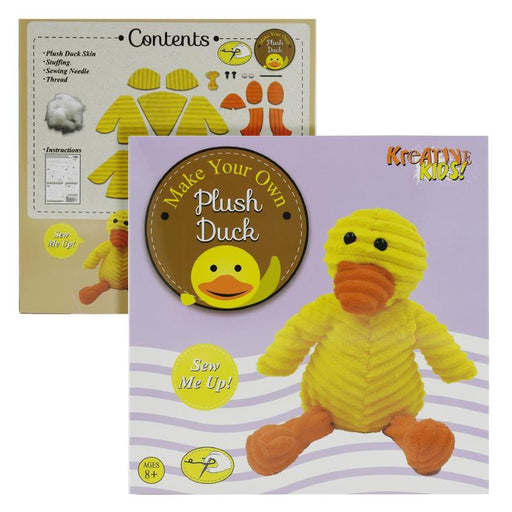 MAKE YOUR OWN STUFF & SEW PLUSH DUCK