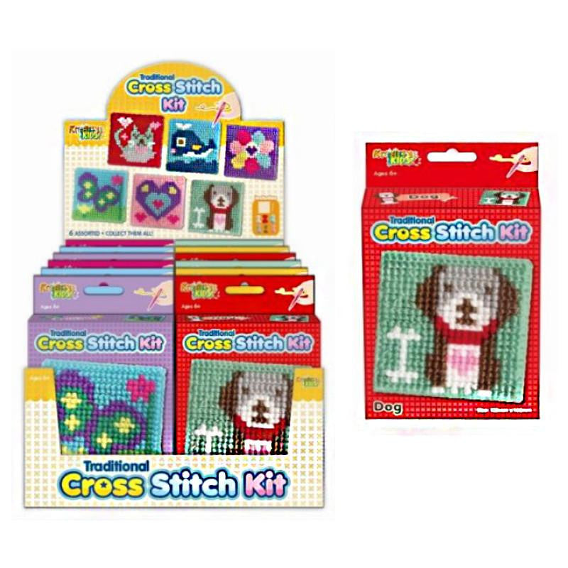 TRADITIONAL CROSS STITCH CRAFTS KIT