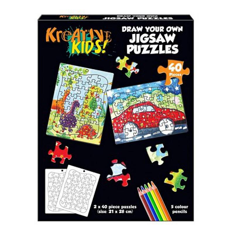 DRAW YOUR OWN JIGSAW PUZZLE