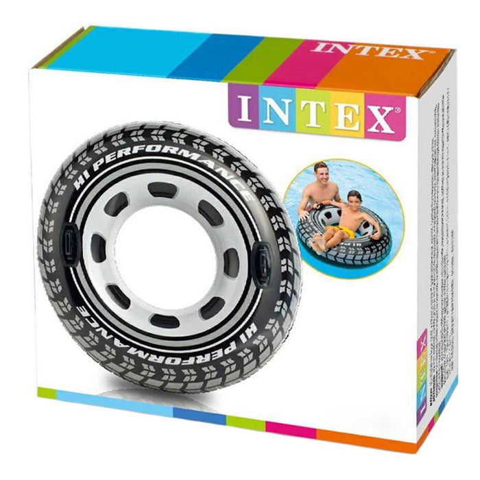 "INTEX MONSTER TRUCK WHEEL INFLATABLE 45"" POOL RING"
