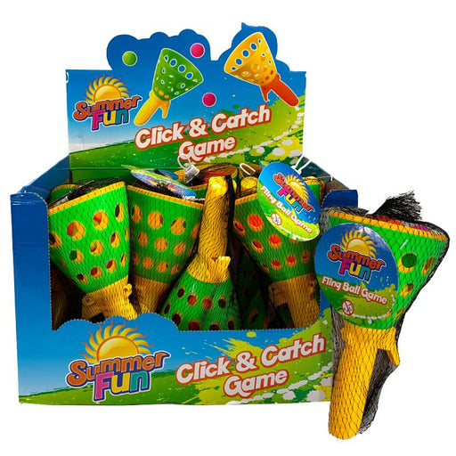 Flick & Catch Fling Ball Game