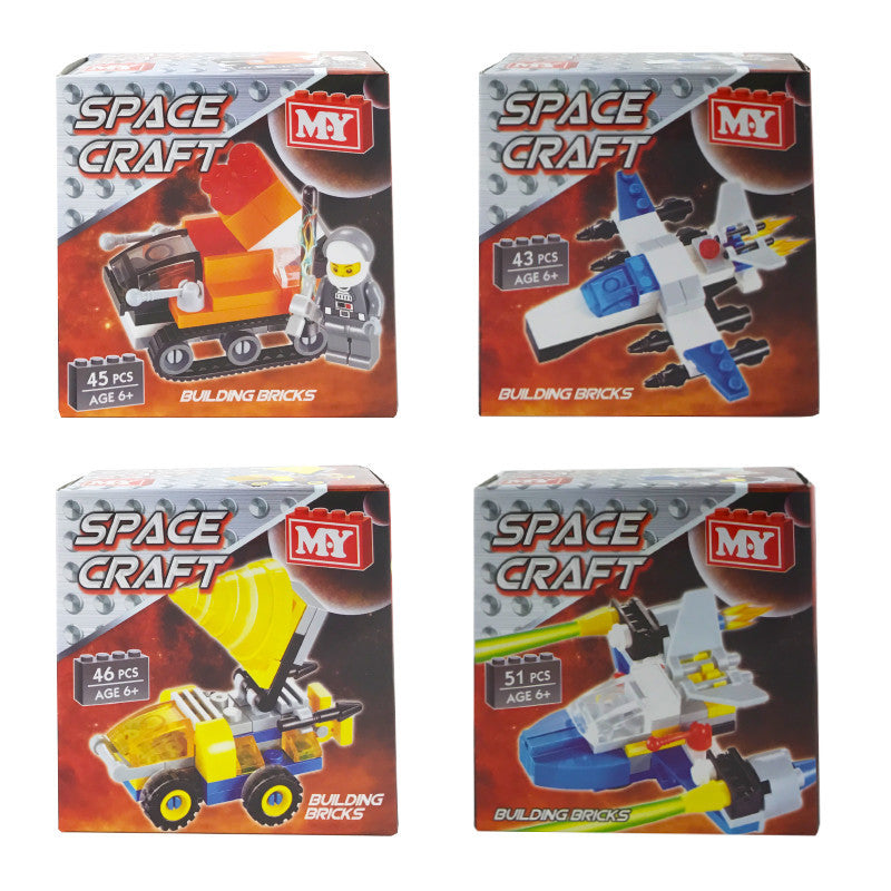 SPACE CRAFT MINI BUILDING BRICKS SET