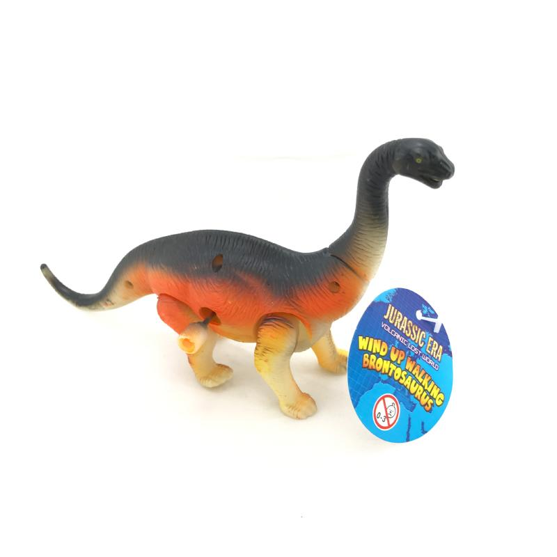 MINI WIND UP WALKING BRONTOSAURUS DINOSAUR